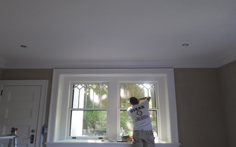 We are painting and restoring homes in Paramus NJ