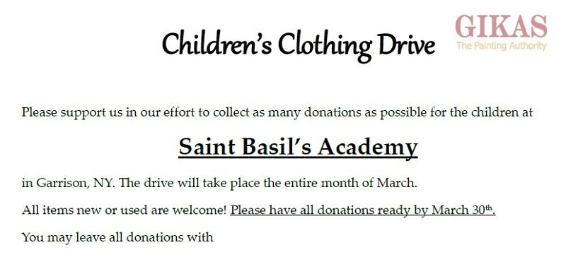 Saint Basil's Academy NY